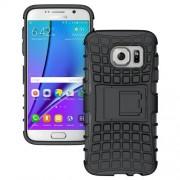 SAMSUNG GALAXY S7 hybrid bag cover, sort Mobiltelefon tilbehør