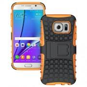 SAMSUNG GALAXY S7 hybrid bag cover, orange Mobiltelefon tilbehør