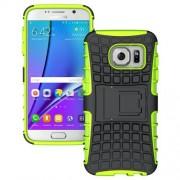 SAMSUNG GALAXY S7 hybrid bag cover, grøn Mobiltelefon tilbehør