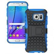 SAMSUNG GALAXY S7 hybrid bag cover, blå Mobiltelefon tilbehør