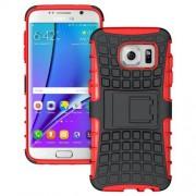 SAMSUNG GALAXY S7 EDGE hybrid bag cover, rød Mobiltelefon tilbehør