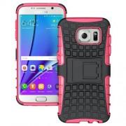 SAMSUNG GALAXY S7 EDGE hybrid bag cover, rosa Mobiltelefon tilbehør