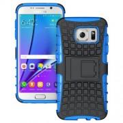 SAMSUNG GALAXY S7 EDGE hybrid bag cover, blå Mobiltelefon tilbehør