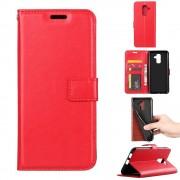 Igo flip cover rød Galaxy A6 (2018) Mobil tilbehør