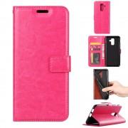 Igo flip cover rosa Galaxy A6 (2018) Mobil tilbehør