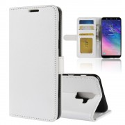 Vilo flip cover hvid Galaxy A6 plus Mobil tilbehør
