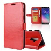Vilo flip cover rød Galaxy A6 plus Mobil tilbehør