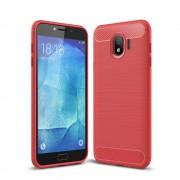 rød C-style Armor cover Galaxy J4 (2018) Mobil tilbehør