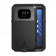 Dropproof shockproof cover sort Galaxy A8 (2018) Mobil tilbehør