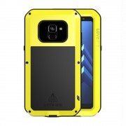 Dropproof shockproof cover gul Galaxy A8 (2018) Mobil tilbehør