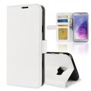 hvid Vilo flip cover Galaxy J4 (2018) Mobil tilbehør
