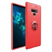 Galaxy Note 9 cover med ring holder rød Mobil tilbehør