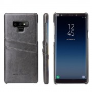 Galaxy Note 9 cover case med kortholder grå Mobil tilbehør