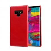 Chairman retro læder cover rød Galaxy Note 9 Mobil tilbehør