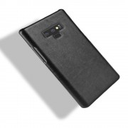 Galaxy Note 9 stilfuld læder case sort Mobil tilbehør