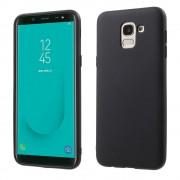 sort Blød tpu cover Galaxy J6 2018 Mobil tilbehør