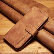 Elegant brun retro cover Galaxy S7 Mobil tilbehør