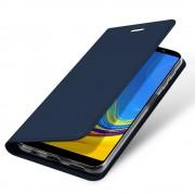 Viser Slim etui Galaxy A7 (2018) mørkeblå