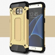 Samsung Galaxy S7 Edge guld cover Armor Guard Leveso.dk Mobil tilbehør
