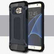 Til Samsung Galaxy S7 Edge cover Armor Guard mørkeblå Mobiltelefon tilbehør