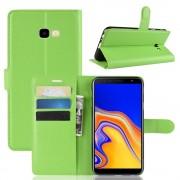 grøn Igo flip cover Galaxy J4 plus (2018) Mobil tilbehør