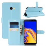 blå Igo flip cover Galaxy J4 plus (2018) Mobil tilbehør