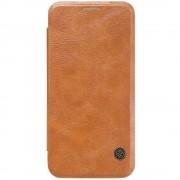 SAMSUNG GALAXY S7 læder cover i business stil, brun Mobiltelefon tilbehør