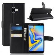 Galaxy J6+ (2018) sort Igo flip cover Mobil tilbehør