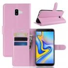Galaxy J6+ (2018) Igo flip cover pink Mobil tilbehør