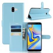 Galaxy J6+ (2018) Igo flip cover blå Mobil tilbehør