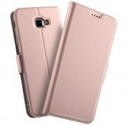 rosaguld Slim flip cover Galaxy J4 plus (2018) Mobil tilbehør