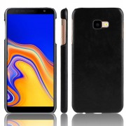 sort Stilfuld hard case Galaxy J4+ (2018) Mobil tilbehør