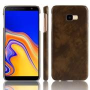 brun Stilfuld hard case Galaxy J4+ (2018) Mobil tilbehør