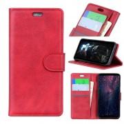 rød Velon etui med lommer Galaxy A9 2018 Mobil tilbehør