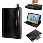 sort Elegant multi cover Galaxy Tab A 10.5 2018 Ipad og Tablet tilbehør