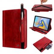 rød Elegant multi cover Galaxy Tab A 10.5 2018 Ipad og Tablet tilbehør