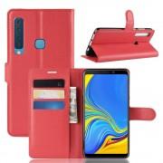 rød Igo flip cover Galaxy A9 2018 Mobil tilbehør