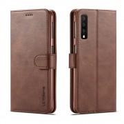 mørkebrun LC flip cover Samsung A7 (2018) Mobil tilbehør