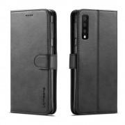 sort LC flip cover Samsung A7 (2018) Mobil tilbehør