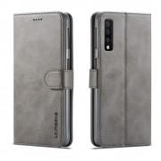 grå LC flip cover Samsung A7 (2018) Mobil tilbehør
