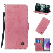 pink Retro cover Galaxy J4 2018 Mobil tilbehør