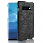 Viser Galaxy S10 case croco sort