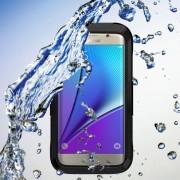 SAMSUNG GALAXY S7 EDGE vandtæt cover, sort Mobiltelefon tilbehør