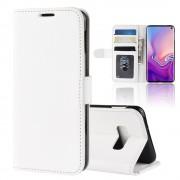 Galaxy S10e Vilo flip cover hvid Mobil tilbehør