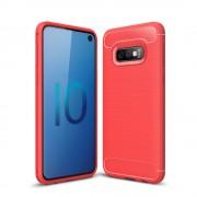 Galaxy S10e C-style armor case rød Mobil tilbehør