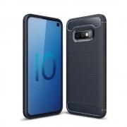 Galaxy S10e C-style armor case blå Mobil tilbehør