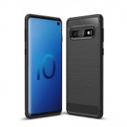 C-style Armor case sort Galaxy S10 Mobil tilbehør