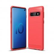 C-style Armor case rød Galaxy S10 Mobil tilbehør