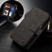 SAMSUNG GALAXY S7 EDGE luksus læder pung cover - etui, sort Mobiltelefon tilbehør