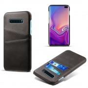 sort Case med lommer Samsung S10 plus Mobil tilbehør